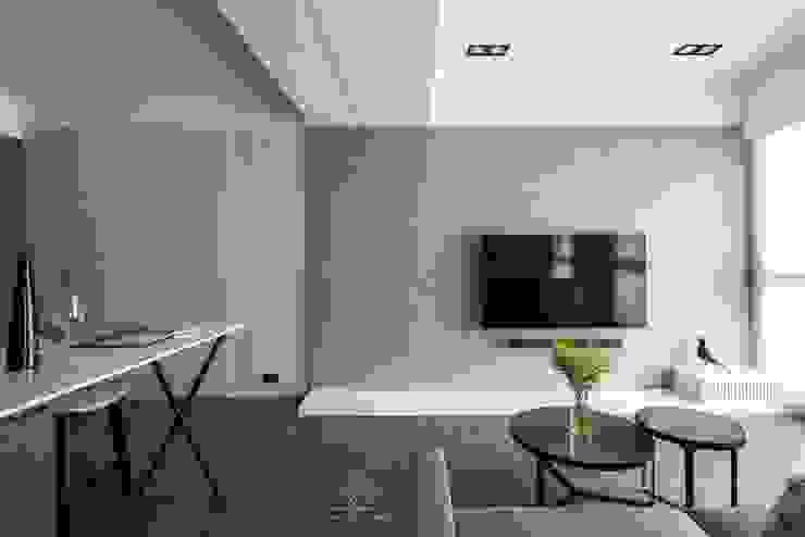 客廳 根據 極簡室內設計 Simple Design Studio 現代風