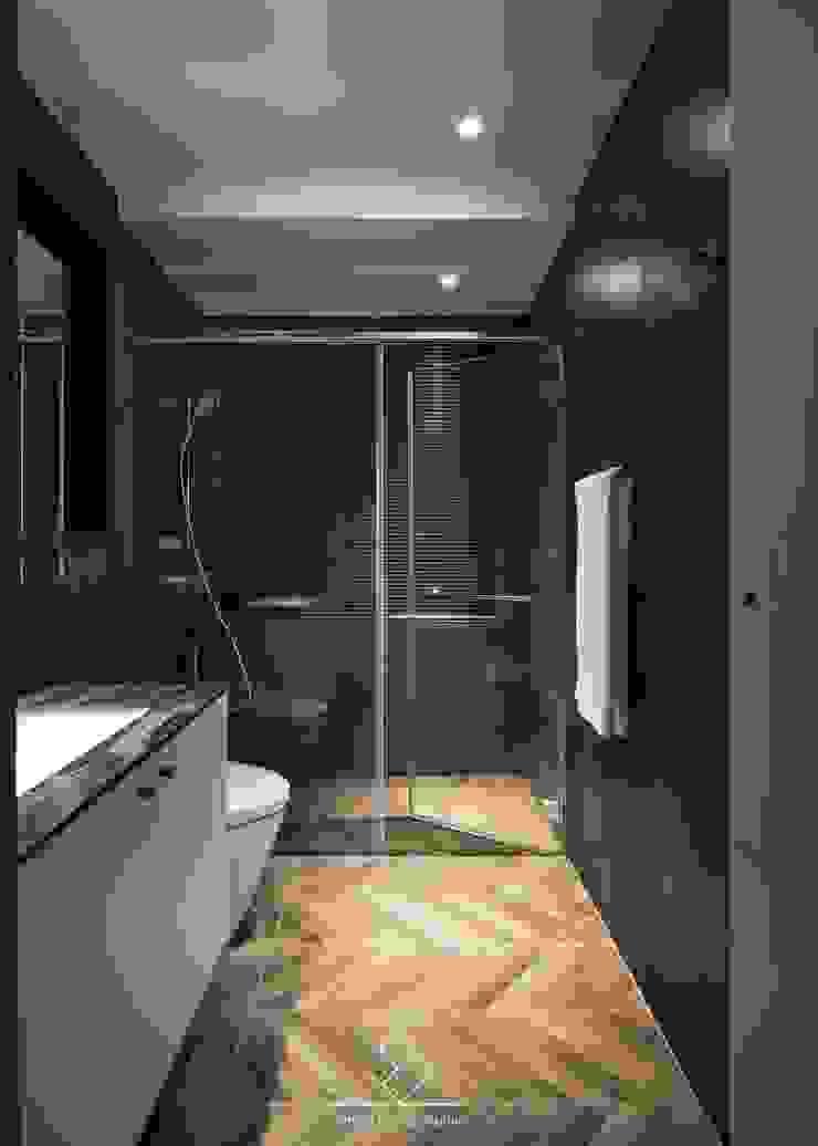 浴室重新翻修 現代浴室設計點子、靈感&圖片 根據 極簡室內設計 Simple Design Studio 現代風