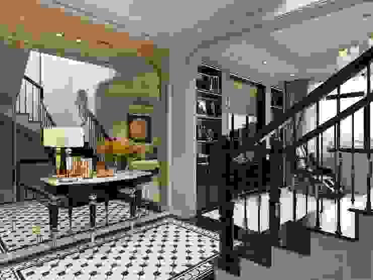 Thiết kế Biệt thự phong cách Đông Dương: KHI THIẾT KẾ LÀ LỜI TỰ SỰ bởi ICON INTERIOR Châu Á