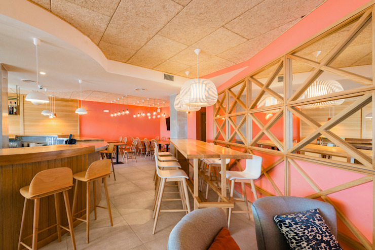 Piedra Papel Tijera Interiorismo Scandinavian style bars & clubs