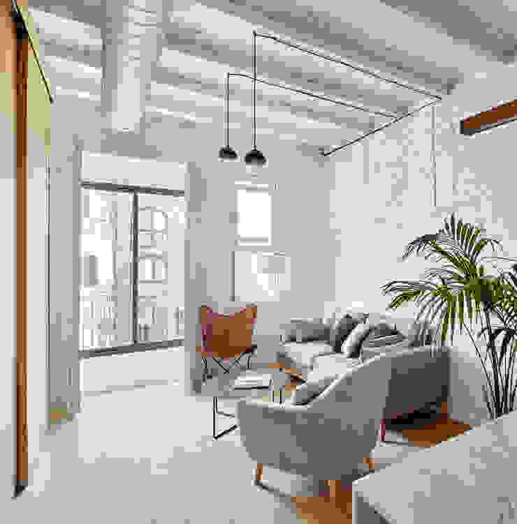 Vivienda particular · Gracia Salas de estilo moderno de Piedra Papel Tijera Interiorismo Moderno