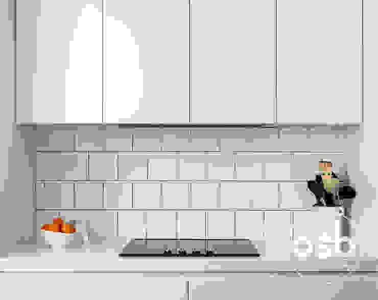 modern  by osb arquitectos, Modern Tiles