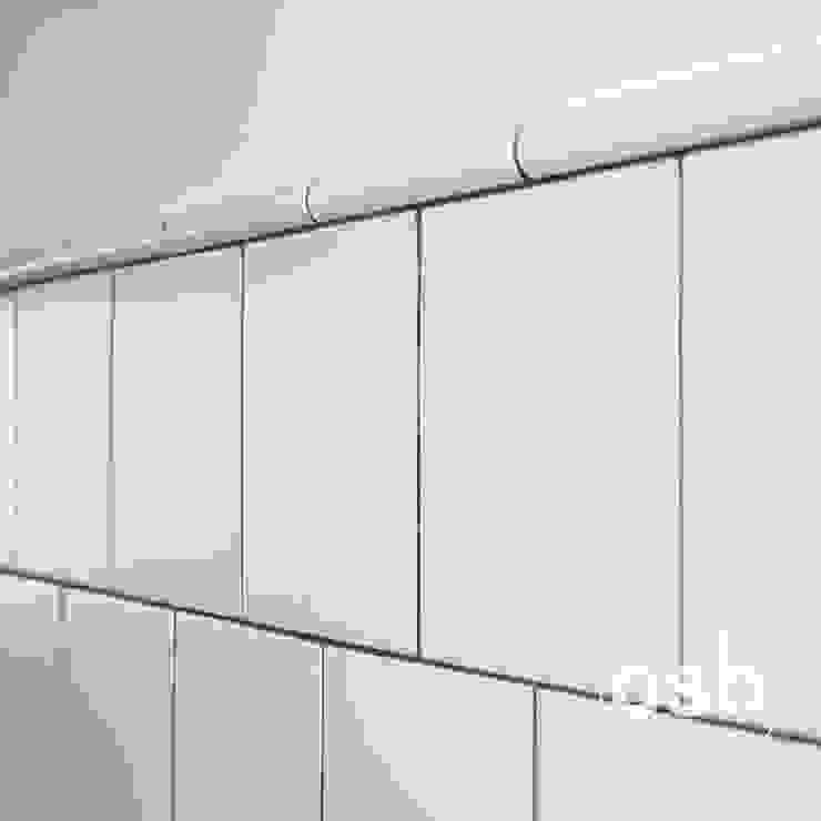 сучасний  by osb arquitectos, Сучасний Плитки