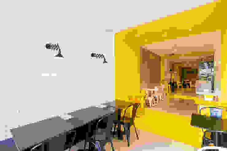 Pico's Grill de Piedra Papel Tijera Interiorismo Moderno