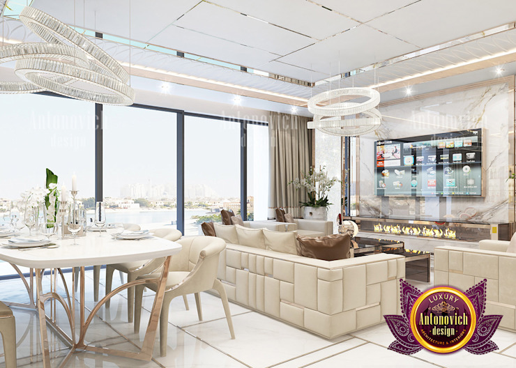 Top Interior Design Solutions for Luxury Apartments by Luxury Antonovich Design