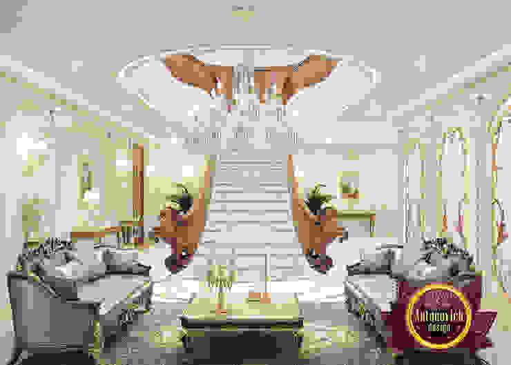 Incredible Luxury Hall Interior by Luxury Antonovich Design
