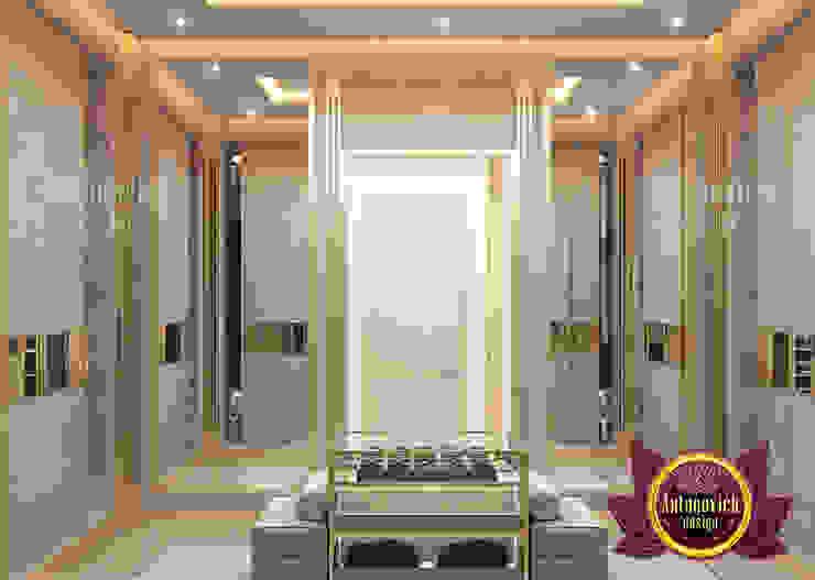 Amazing Spacious Bedroom Interior by Luxury Antonovich Design