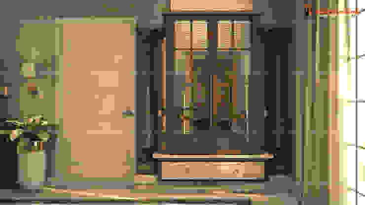 Fabmodula Hành lang, sảnh & cầu thang phong cách hiện đại
