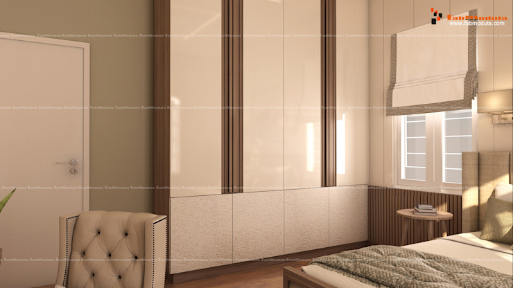 Wardrobe Design Fabmodula Modern style bedroom