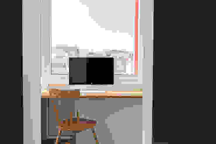 Córcega Piedra Papel Tijera Interiorismo Oficinas de estilo escandinavo
