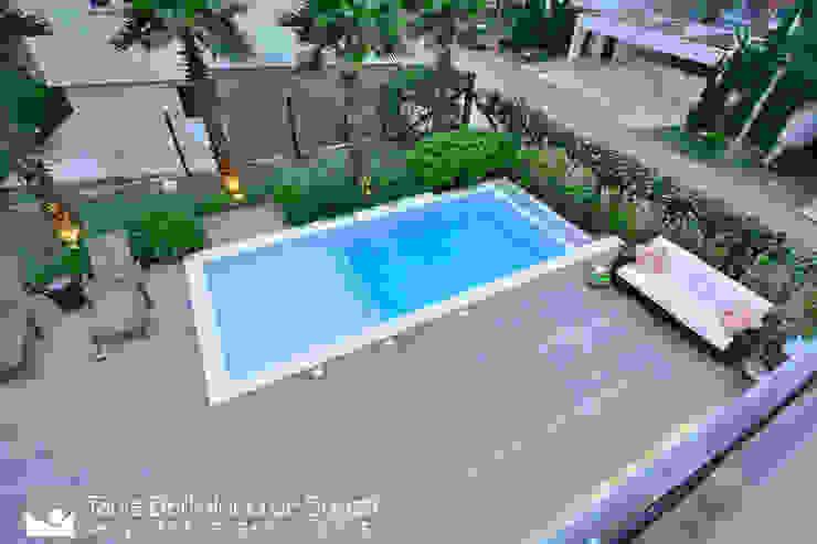 Residência Unifamiliar Piscinas modernas por Tania Bertolucci de Souza | Arquitetos Associados Moderno