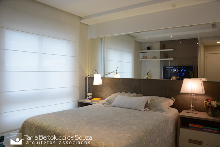 Tania Bertolucci de Souza | Arquitetos Associados Dormitorios de estilo moderno