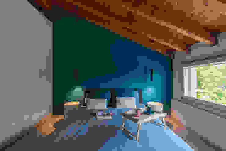 Camera da letto CÙ DESIGN Camera da letto moderna Blu