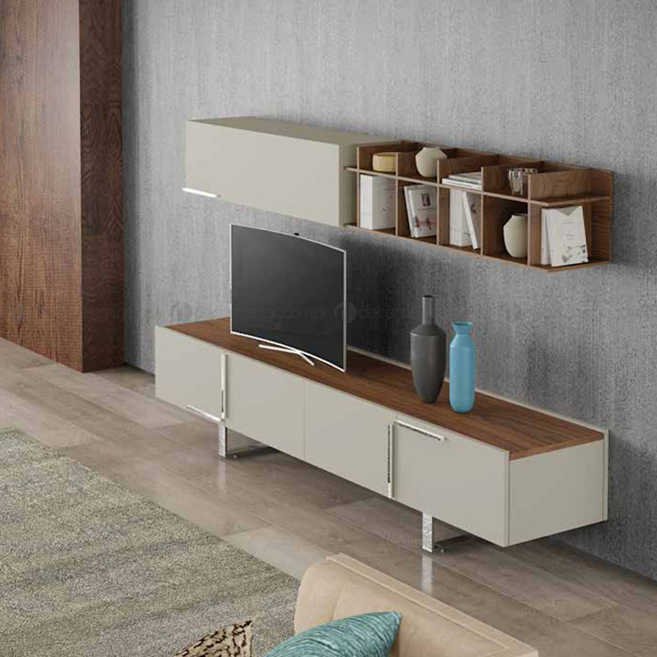 Decordesign Interiores Living roomTV stands & cabinets Chipboard Wood effect