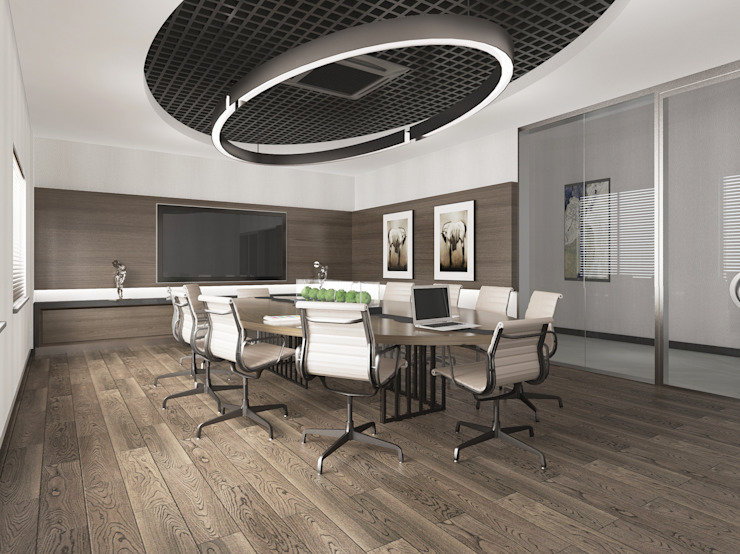 Püff Noktası – Toplantı Odası:  tarz Ofis Alanları & Mağazalar,