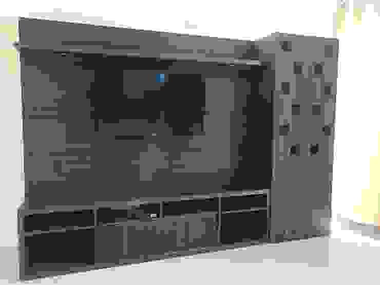 Salones de estilo moderno de RV Dezigns Moderno