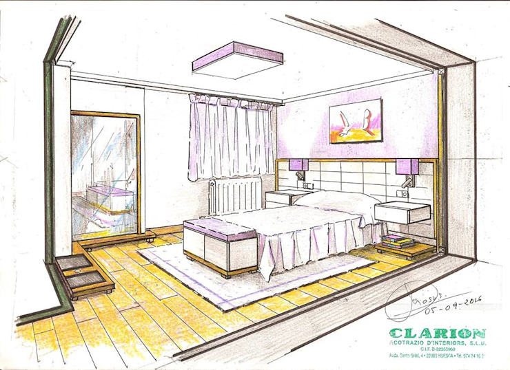 modern  by Clarion - acotrazio d'interiors S.L.U, Modern