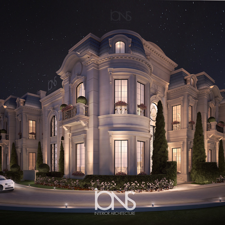 Grand ِArchitecture for Palace and Villa Design by IONS DESIGN 클래식 돌