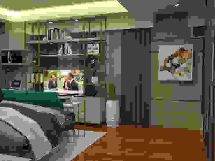 Master bedroom Modern style bedroom by Corpuz Interior Design Modern