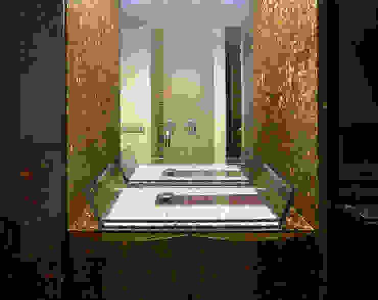 Lavatório em coco por MJARC - Arquitetos Associados, lda Moderno