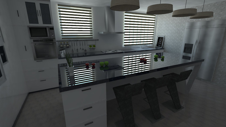 Diseño de cocina - Interiorismo de Central Grup Moderno