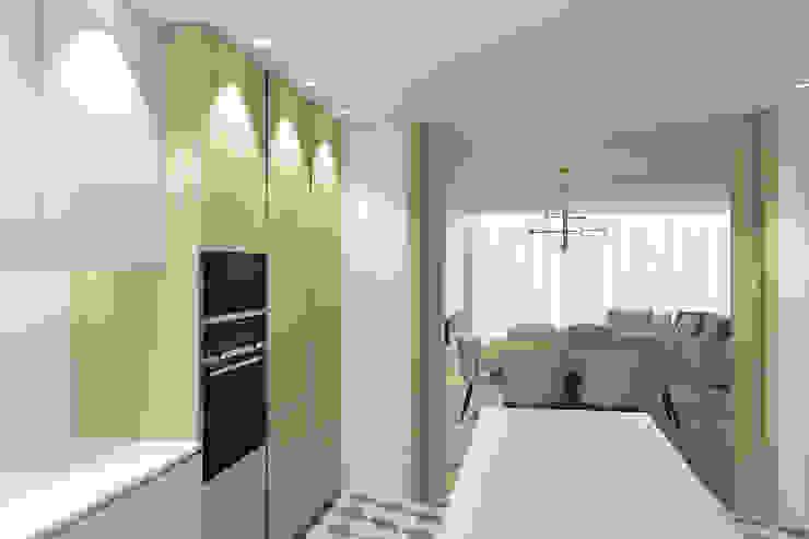 Da cozinha para a sala 411 - Design e Arquitectura de Interiores Armários de cozinha