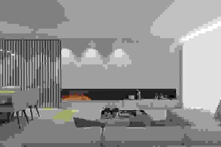 O recuperador 411 - Design e Arquitectura de Interiores Salas de estar modernas