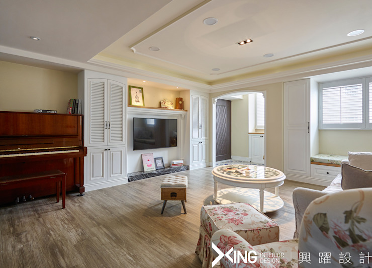 興躍設計 Country style living room