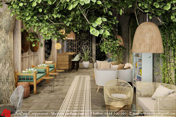Thiết kế nội thất quán cafe TUY'S COFFEE bởi Thiết Kế Nội Thất - ARTBOX