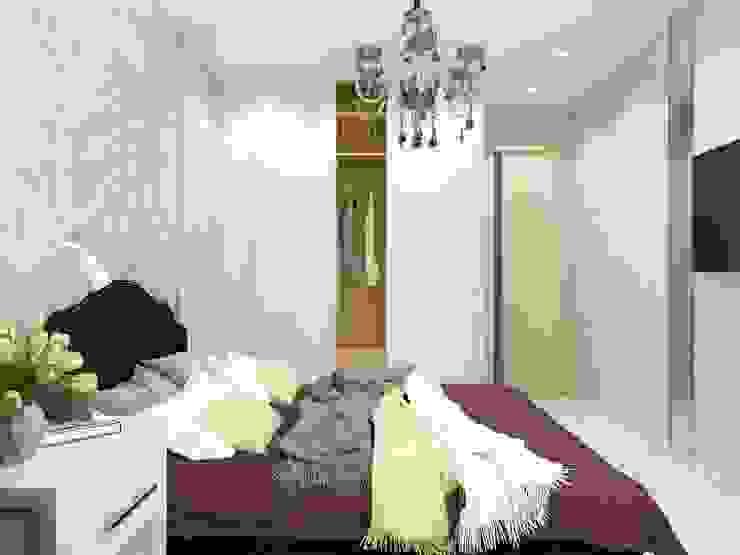 Bedroom by ARTWAY центр профессиональных дизайнеров и строителей,