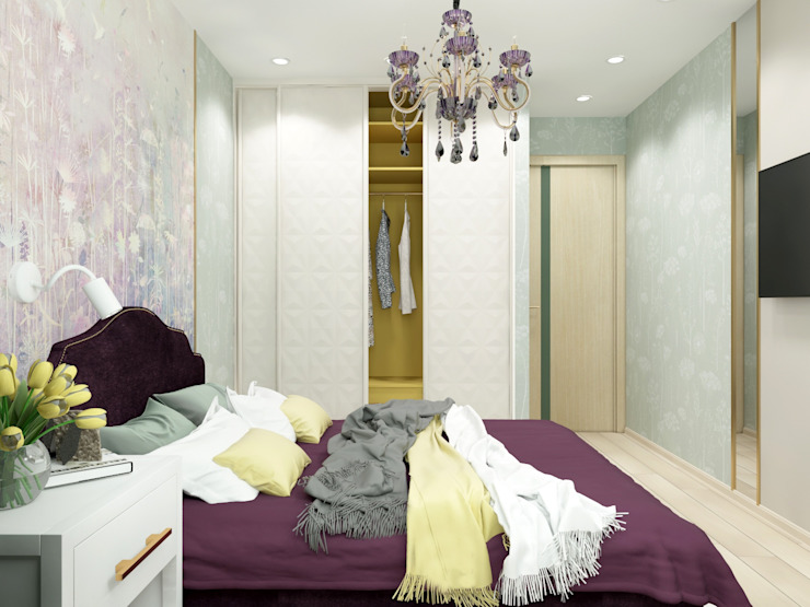 臥室 by ARTWAY центр профессиональных дизайнеров и строителей, 現代風