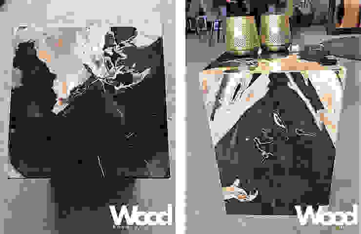 Woodlovesyou&moreが手掛けた折衷的な, オリジナル 大理石