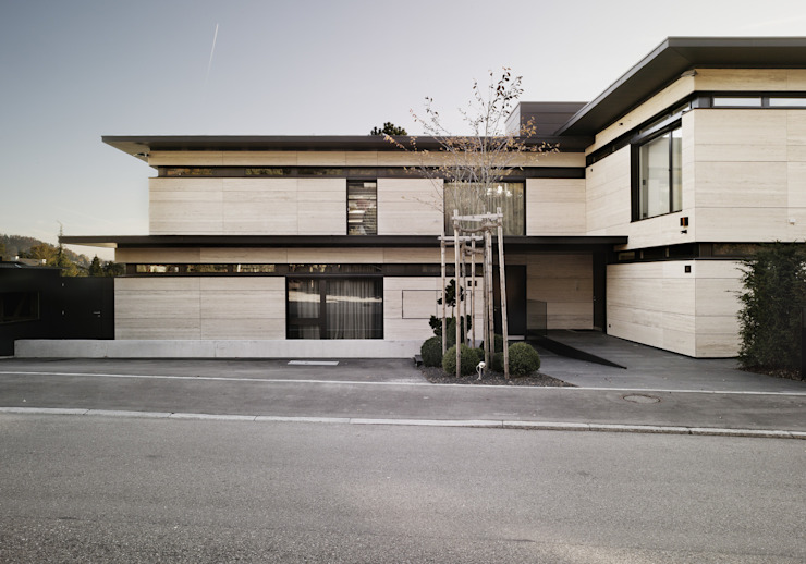 meier architekten zürich Casas de estilo moderno