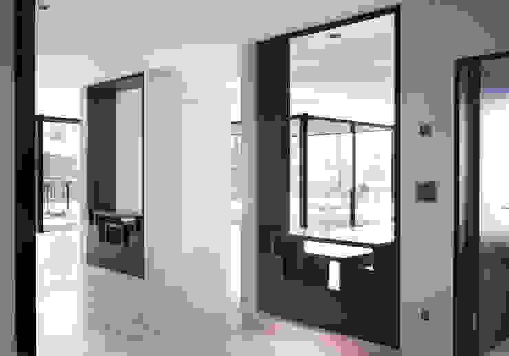 meier architekten zürich Modern corridor, hallway & stairs