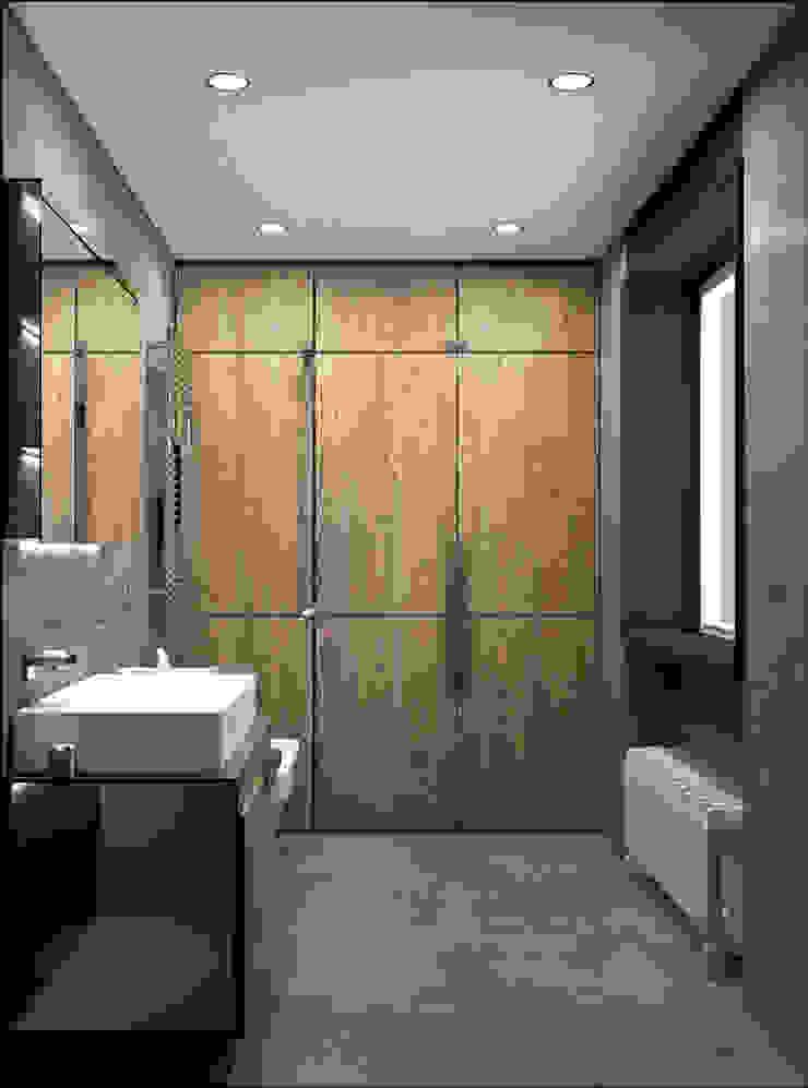 Salle de bain moderne par DUOLAB Progettazione e sviluppo Moderne