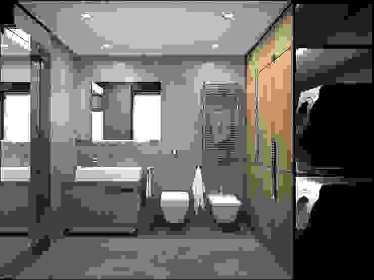 Baños de estilo moderno de DUOLAB Progettazione e sviluppo Moderno
