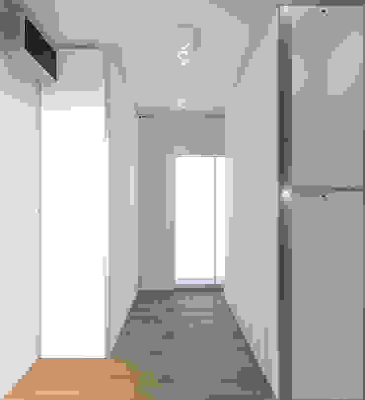 Cabina armadio DUOLAB Progettazione e sviluppo Spogliatoio moderno Bianco