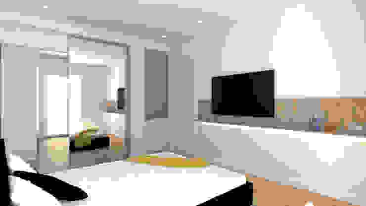 Modern style bedroom by DUOLAB Progettazione e sviluppo Modern