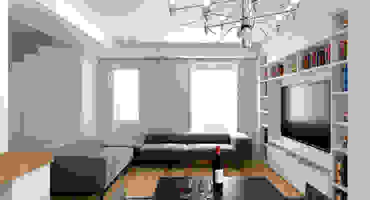 Modern living room by DUOLAB Progettazione e sviluppo Modern
