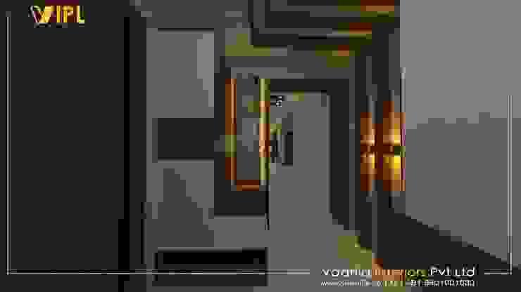 Foyer Design:  Corridor & hallway by Vadhia Interiors Pvt Ltd,Modern