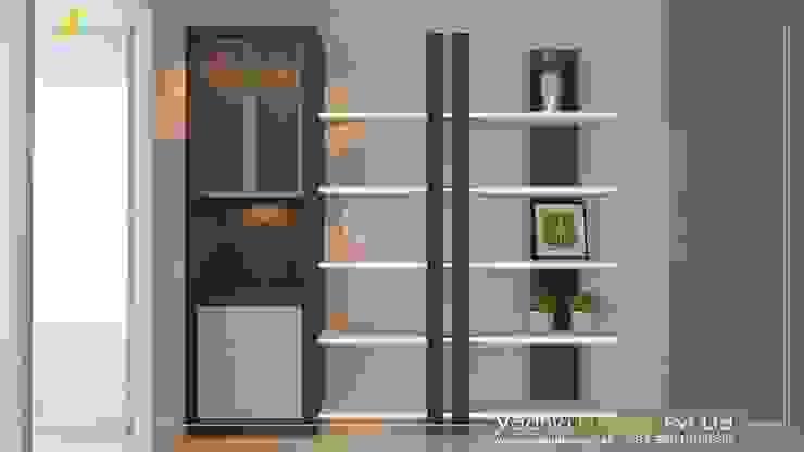 Modular Kitchen:  Kitchen units by Vadhia Interiors Pvt Ltd,
