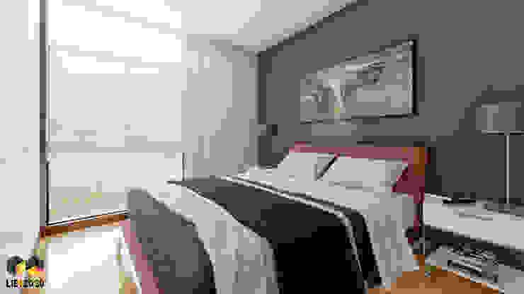 Espacio interior: Dormitorio principal de Lienzo 3D