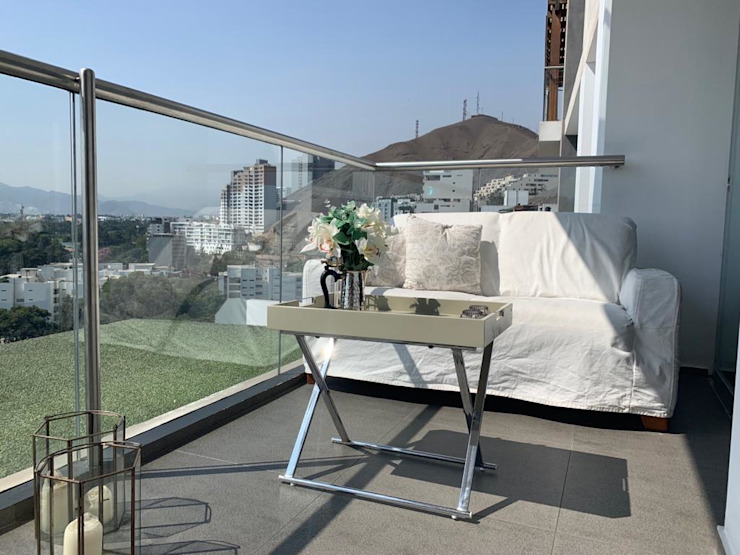 Home Staging & Co. Balconies, verandas & terraces Furniture