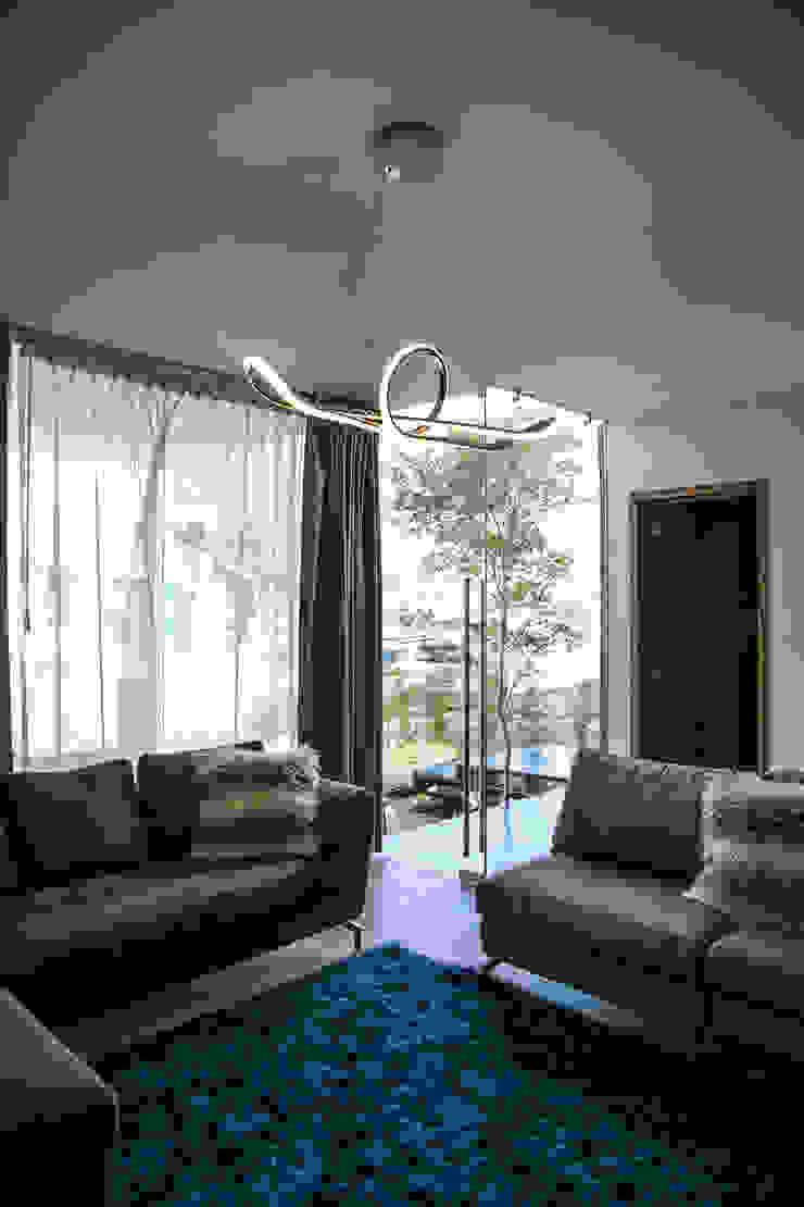 21arquitectos Livings de estilo minimalista