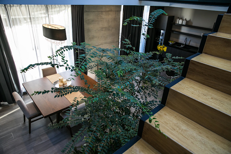 Vista Comedor 21arquitectos Escaleras
