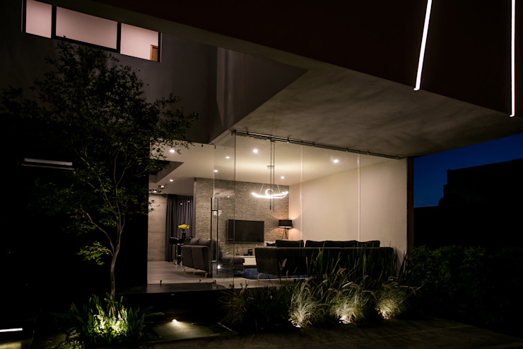 Vista Ingreso 21arquitectos Casas de estilo minimalista