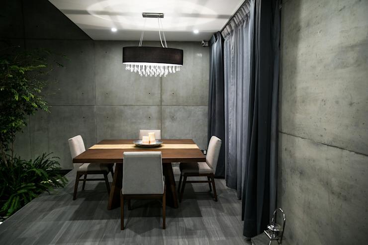 Sala da pranzo minimalista di 21arquitectos Minimalista