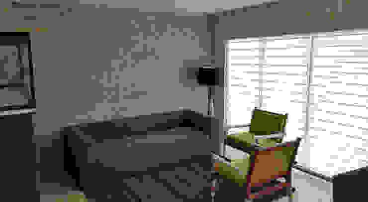 PROYECTO VISTA BOSQUES Salones modernos de Decórame diseño más interiorismo Moderno