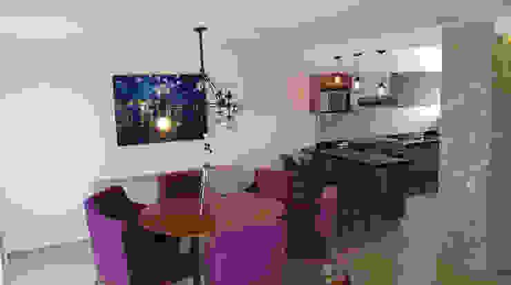PROYECTO VISTA BOSQUES Comedores modernos de Decórame diseño más interiorismo Moderno