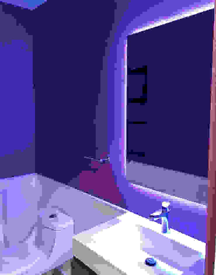 PROYECTO VISTA BOSQUES Baños modernos de Decórame diseño más interiorismo Moderno